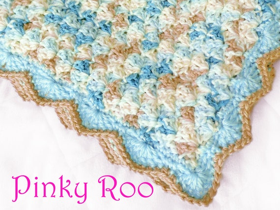 Crochet Baby Blanket Patterns Variegated Yarn : Unavailable Listing on Etsy