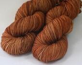Gingerbread - Kelpie DK hand dyed merino yarn - 100g