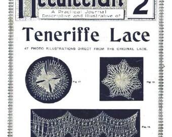 Teneriffe Lacemaking Needlecraft Practical Journal No. 35 Instant Digital Download