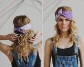 Orchid Purple Headband