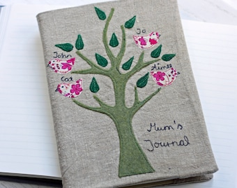 Family Tree Notebook A5