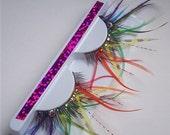 Rainbow Dream Feather Lashes Custom Order