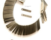 Stainless Steel Metal Product tags, 50 to 60 sq mm in size. Custom Designed