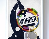 Science Poster Art Print - Wall Art - Stellar Science Wonder Science Poster Print