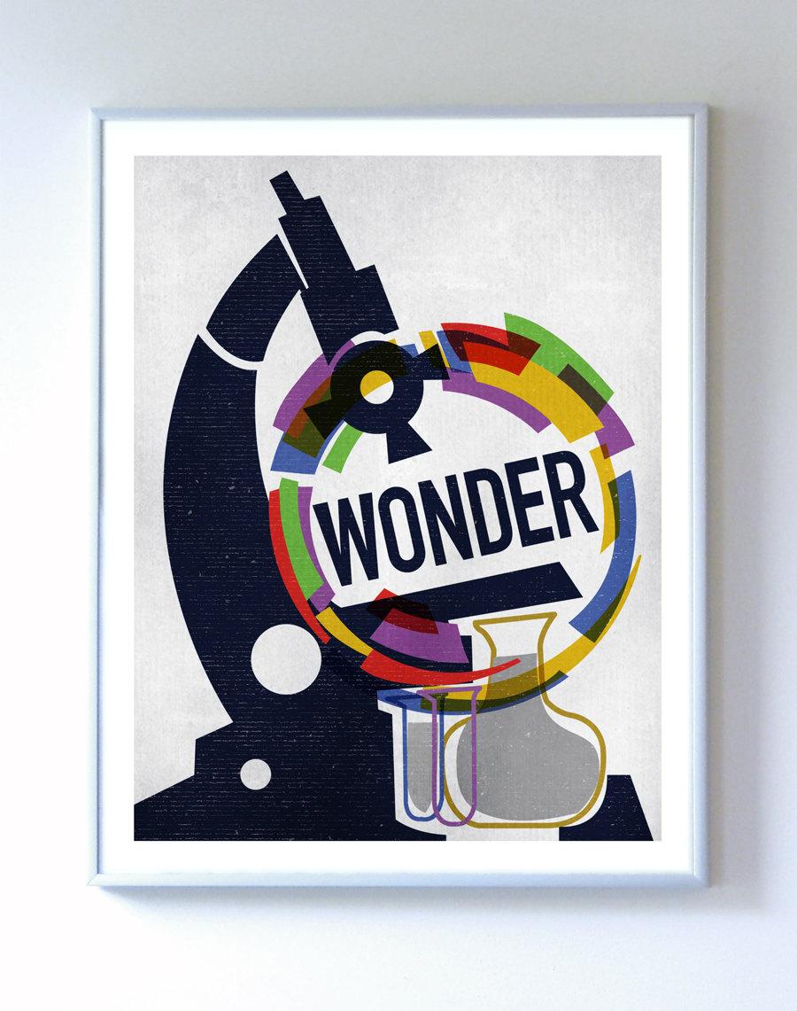 11 X 14 Wonder Science Poster Art Print Wall Art Stellar
