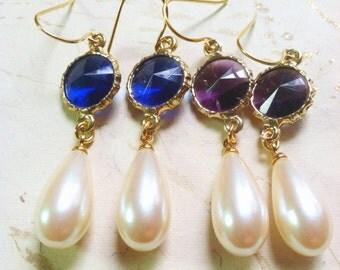 Renaissance Medieval Earrings Vintage Jewel Gifts for Her Under 25 by MinouBazaar
