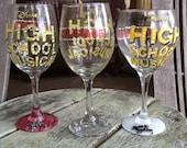 High School Musical wine glasses, Disney