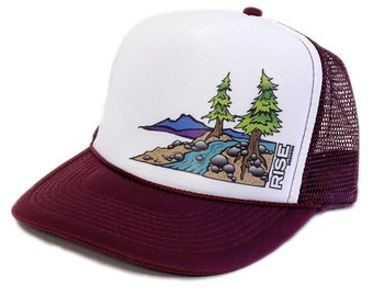 Truckee River Trucker Hat