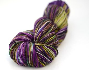 Hand Dyed Sock Yarn - Worsted - 115g