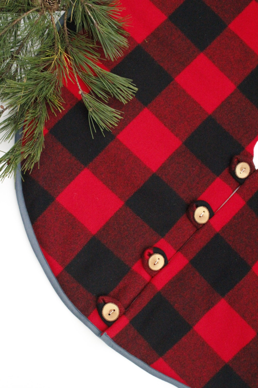 Christmas tree skirt pendleton wool