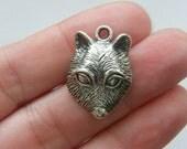 BULK 30 Meerkat charms antique silver tone A18