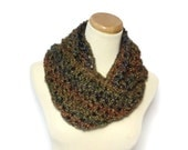 Prairie Infinity Scarf, Knit Infinity Scarf, Knit Cowl, Hand Knit Circle Scarf