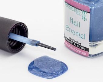12ml Nail Polish - Wintery - Moody Blue