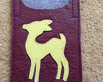 SALE! Deer Card Sleeve