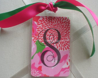 NEW PATTERN LILLY BagTags Luggage Tags Part Three for the Individual