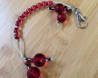 RUBY Red - Golf Stroke Counting Beads - MAXI -  TallyGators™