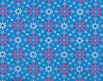 Nellie Hill Fabric 1015B in Blue