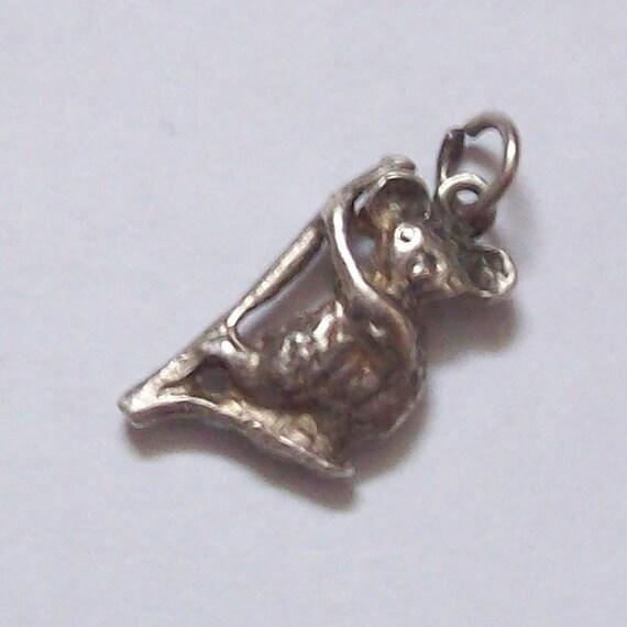 Cute Koala Sterling Silver Charm
