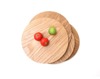 Natural White Oak. Wood Slab. Rustic Pie Tray. Kitchen. Cheese Board. Round. Cutting Board. Cake Stand. FOOD52 collab. Autumn Dinner Party.