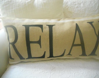 Relax extra large pillow slip