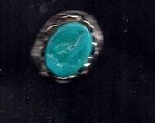 Rare sleeping beauty mine turquoise ring
