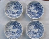 "Wedgwood & Company England ""Countryside"" pattern Bowls"