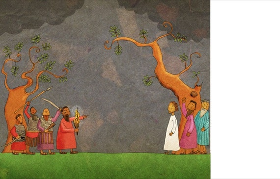 The Jesus Storybook Bible - 72 dpi Digital File (Page 298 - 299)