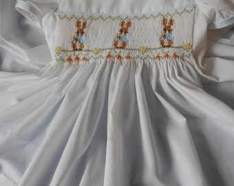 Smocked Dress - CUSTOM ORDER  -  SHAMROCKS