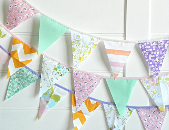 Pretty Playful Bunting Garland