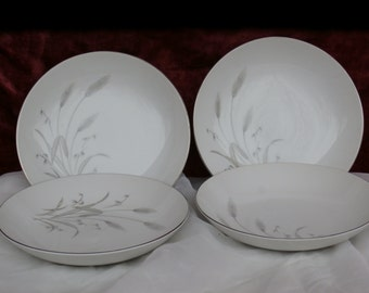 4 Fine China of Japan Spring Wheat Soup Bowls