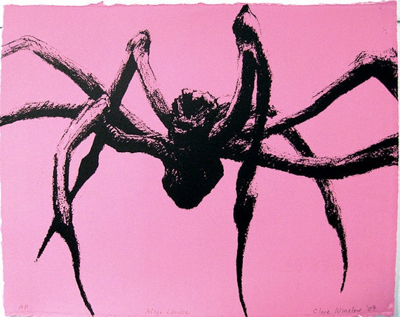 Spider - Screenprint