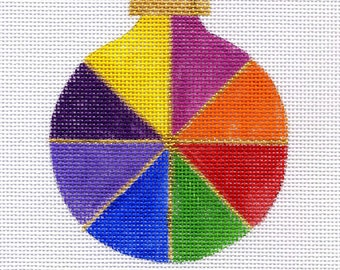 Pinwheel Bold Needlepoint Ornament - Jody Designs - B155A