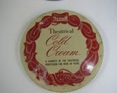 Vintage Rexall Theatrical Cold Cream Tin 1950s Collectible