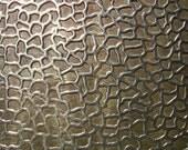 Nickel Silver Texture Metal Sheet Snakeskin Pattern 20g - 6 x 2 inches - Hammering Sheet Metalwork