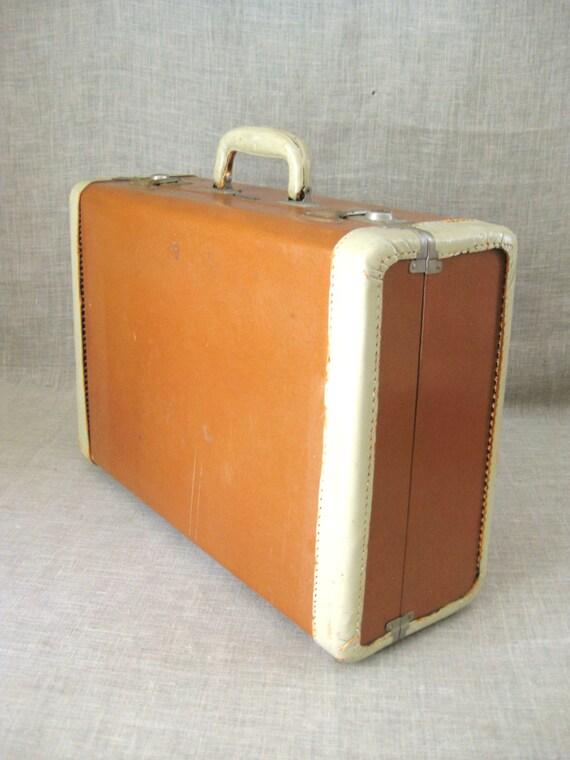 Suitcase , Vintage Luggage , Vintage Samsonite , Weekender Suitcase , Storage , Vintage Suitcase , Travel Luggage , Travel Case , Brown Case