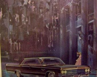 1963 Oldsmobile ninety eight  Detroit Michigan  advertisement 7 1/2 x 10 as found