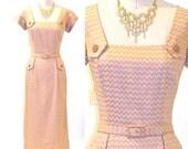 50s Dress, Adele Simpson 1950s Cocktail Dress, NOS Vintage Designer Dress Suit and Jacket