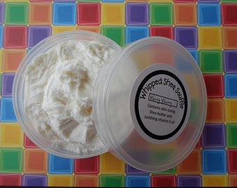 Homemade Body Butter Whipped Shea Butter Shea Soufflé Body Lotion with Shea Butter and Vitamin E | Gift for Her | Body Frosting