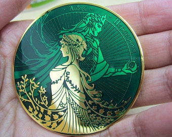Hades and Persephone coin 3rd minting - SUMMER