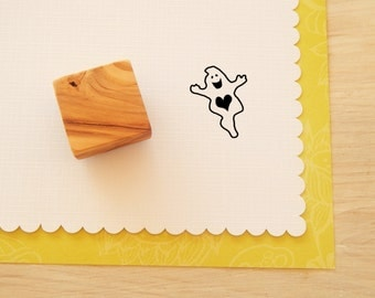 Lovable Spook Olive Wood Stamp