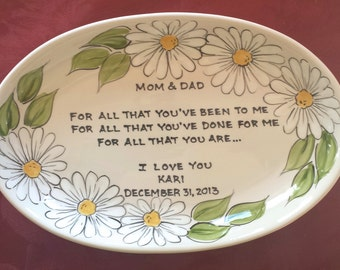 MOTHER of the BRIDE, mother of the bride gift, gift from bride, moms gift, gift for mother of the bride, gift mother of groom, daisies