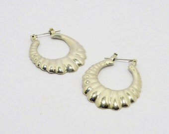 SALE BIG Vintage 925 Mexican Pieced Earrings, Jewelry