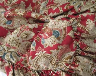 Ralph Lauren cotton standard Sham - floral, red