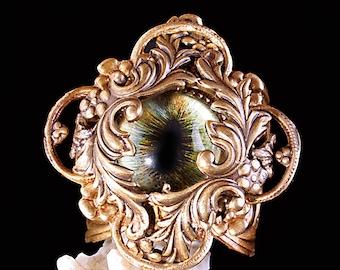 Steampunk Ring Evil Eye Ring Dragon Eye Ring