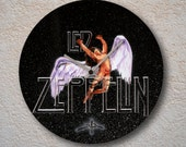 airbrushed LP - angel - led zeppelin tribute