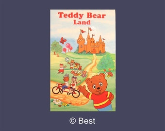 Personalized Children's Book - Teddy Bear Land