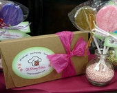 Valentine Lollipop Gift Box - PRE ORDER  - Your Choice - Kid-Friendly non-alcoholic or Classic options available