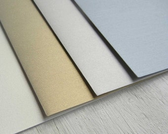 Soft metallic or Double Thick Luxury envelopes for use with GoGoSnap Invitations ONLY