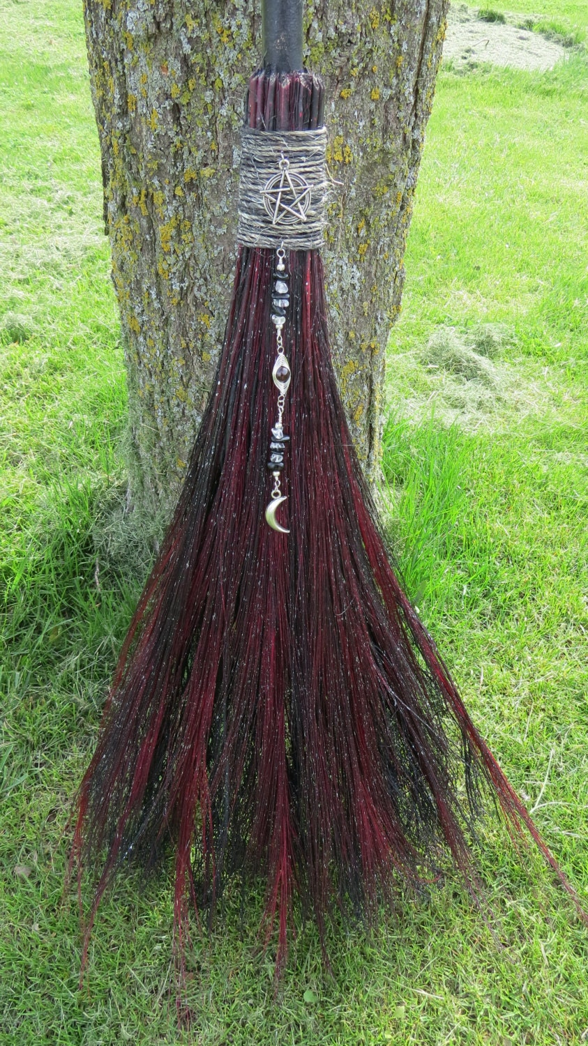 broom pagan wedding broom witches broom broomstick