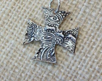 Pure Silver Cross